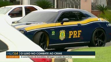O que era ostentação de bandido está ajudando a polícia no combate ao crime - Carros luxuosos estão à serviço das fiscalizações.
