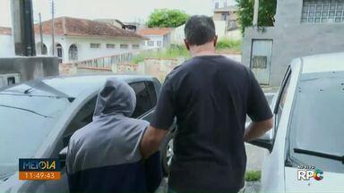 Polícia prende suspeito de agredir ex-mulher em Ponta Grossa - Vítima de 22 anos está internada na UTI do Hospital Universitário.