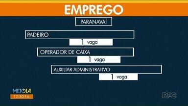 Agência do Trabalhador de Paranavaí oferta 51 vagas nesta quinta-feira (7) - Em Umuarama, tem 137 vagas abertas hoje.