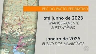 Reforma do Governo Federal propõe extinção de pequenos municípios - Saiba quais seriam extintos na Serra.