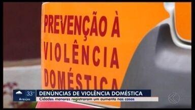 Mais de 20 mulheres foram agredidas por dia na região Centro-Oeste de MG no 1º semestre - Situação representa um aumento de 6% em relação ao mesmo período do ano passado. Projeto desenvolvido pelo juiz Mauro Riuji ajuda a reduzir violência doméstica.