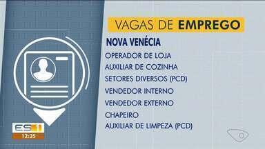 Ao Trabalho: confira as vagas de emprego que estão abertas no Sine de Nova Venécia - Confira as vagas de emprego que estão abertas no Sine de Nova Venécia.