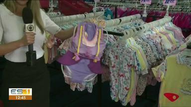 Expositores de todo o Brasil participam da Feira do Bebê e Gestante em Linhares, ES - Estão sendo expostos e vendidos diversos itens do universo dos bebês.
