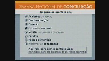 Semana da Conciliação termina nesta sexta-feira (7) - Semana da Conciliação termina nesta sexta-feira (7)