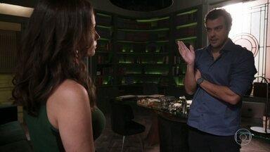 Lara gosta da possibilidade de afastar Rita de Nina - Joaquim pensa em cancelar as visitas de Rita caso Rui se aproxime da filha deles novamente