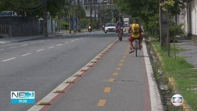 Prefeitos discutem medidas para diminuir mudanças no clima em conferência no Recife - No Recife, foi citado o aumento da malha cicloviária.