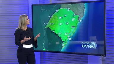 Região Norte segue com chuva nesta sexta-feira; restante do RS tem sol entre nuvens - Temperaturas aumentam e calor prevalece no estado.