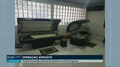 Polícia investiga clínicas de estética clandestinas - Investigação foi batizada de Operação Afrodite. Servidora da prefeitura também é investigada por ter avisado envolvidos sobre a operação, segundo a polícia.
