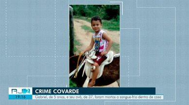Avô e neto de 5 anos são mortos a tiros dentro de casa em Campos, no RJ - Polícia suspeita que o crime tenha sido uma retaliação a dois assassinatos no fim de semana.