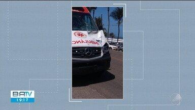 Ambulância do Samu atropela e mata idoso de 69 anos em Ilhéus, sul do estado - O acidente aconteceu nesta quinta-feira (7).