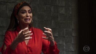 Maria da Paz se irrita com Josiane ao visita-la na cadeia - A boleira se desespera e se questiona sobre criação de sua filha