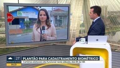 Tem plantão para cadastramento biométrico neste sábado - Em Ferraz de Vasconcelos são cerca de 60 mil eleitores que ainda não fizeram o cadastro obrigatório.