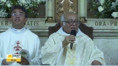 Padre Francisco Caetano comemora 45 anos de sacerdócio - Festa aconteceu na Igreja de Nossa Senhora da Piedade, em Santo Amaro.