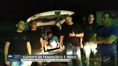Polícia Civil detém suspeito de matar ex-mulher com golpes de facão em Mogi Mirim - Juarez Ferreira, de 54 anos, foi encontrado em Jacutinga, no sul de MG. Vítima, Genersia Maria de Souza, tinha 42 anos. Filha dela teve a mão esquerda decepada ao tentar defendê-la.