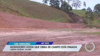 Link Vanguarda: Parou por quê? - Obra está parada em Jacareí.
