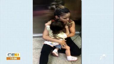 Várias pessoas ficaram presas em elevador de shopping em Juazeiro do Norte - Saiba mais no g1.com.br/ce