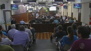 Audiência pública debate concessão de ferrovias em Bauru - Em Bauru, vereadores, secretários, Ministério Público Federal e representantes da concessionária Rumo participaram de uma audiência pública para debater a antecipação da renovação da concessão para o uso das ferrovias.