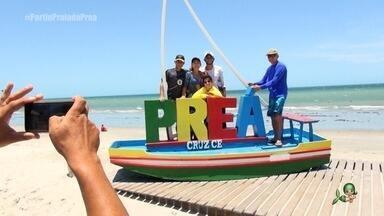 Preá tem se tornado uma das praias mais visitadas do Ceará (bloco 1) - Tep Rodrigues mostra os atrativos da bela praia que pertence ao município de Cruz
