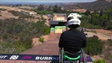 Aaron Wheelz vai desafiar a Mega Rampa em uma cadeira de rodas - undefined