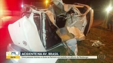 Um morto em acidente na Avenida Brasil - undefined