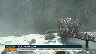 Moradores de Foz e dos municípios lindeiros visitam o Parque Nacional do Iguaçu de graça - Faz parte da campanha #CataratasDay