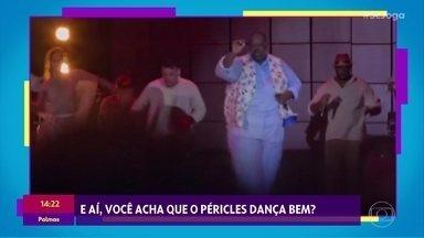 Péricles lança DVD e dança no palco - Solange Almeida comemora sucesso da nova música na piscina