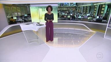Jornal Hoje - íntegra 11/11/2019 - Os destaques do dia no Brasil e no mundo, com apresentação de Maria Júlia Coutinho.