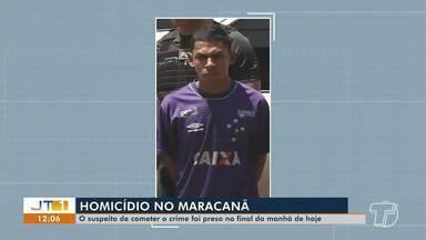Jovens são presos e adolescentes apreendidos suspeitos da morte de jovem no Maracanã - Janaína Emily, de 23 anos, foi encontrada decapitada e sem um dos seios e dedo dentro de uma casa abandonada, no sábado (9), em Santarém.