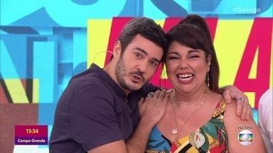 Fabiana Karla e Marcos Veras relembram par romântico em 'Verão 90' - Atores falam sobre parceria e contam história engraçadas que passaram juntos