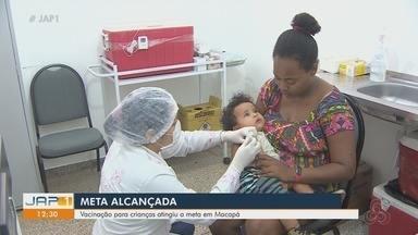 Vacinação contra o Sarampo atingiu a meta em Macapá - Vacinação contra o Sarampo atingiu a meta em Macapá
