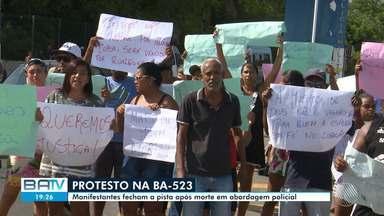 Moradores de Madre de Deus protestam contra ação da polícia após morte de um homem - Confira este e outros destaques desta segunda-feira (11).