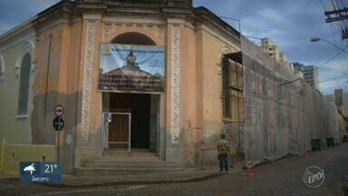 Novo método de captação de recursos pode melhorar manutenção de patrimônios históricos - Campinas (SP) tem mais de 500 patrimônios históricos tombados, e todos correm o risco de deterioração com a falta de dinheiro para manutenção.