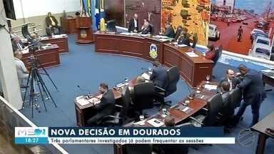 Vereadores investigados poderão frequentar sessões em Dourados - Vereadores de Dourados, investigados por corrupção na operação 'Cifra Negra', vão poder frequentar as sessões legislativas, sem correr o risco de serem presos.