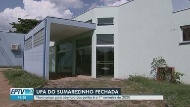 Moradores esperam há 4 anos pela inauguração da UPA Oeste em Ribeirão Preto, SP - Prefeitura tenta contratar organização social para administrar unidade de saúde no bairro Sumarezinho.