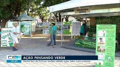 Mostra de Culturas também debate ações sobre meio ambiente - Confira mais notícias em g1.globo.com/ce