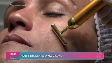 'Tapa no Visual': Priscila recebe tratamentos estéticos - Ela passa pelos cuidados do dentista e dermatologista