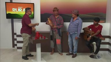 Contadores de Causos se apresentam no Inter TV Rural - Homem do Rádio, Rufino e violeiro fazem participação especial, com causos e músicas.
