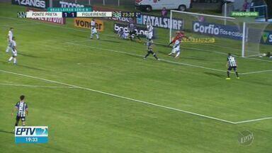 Ponte Preta perde para o Figueirense em casa e chega ao 8º jogo sem vitória na Série B - Macaca foi presa fácil para o time catarinense, que briga contra o rebaixamento.