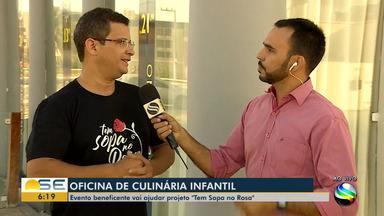 Evento beneficente vai ajudar projeto 'Tem Sopa no Rosa' - O repórter Rafael Carvalho tem mais informações.