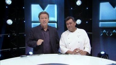 Começa o desafio do dia - Todos os chefes terão que fazer pratos com especiárias brasileiras