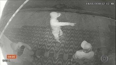 Empresários do setor de pescado do litoral paulista sofrem com roubos e assaltos - Em 20 dias, foram oito ocorrências. Algumas, registradas por câmeras de segurança.