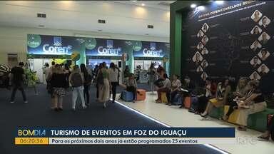 Foz do Iguaçu se consolida com o turismo de eventos - Para os próximos dois anos já estão programados 25 eventos