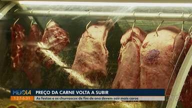 Quilo da carne volta a subir no Paraná - Churrascos e festas de fim de ano devem pesar mais no bolso.