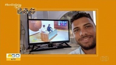 Telespectadores enviam fotos para o Bom Dia Goiás - Confira!