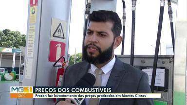 Procon faz levantamento de preços dos combustíveis em Montes Claros - Consumidores devem pesquisar para garantir melhores preços, aponta Procon.