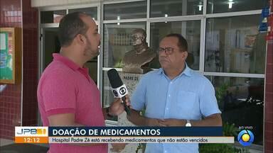 Hospital Padre Zé recebe medicamentos que não estão vencidos - Campanha foi aberta e convida população a se mobilizar.