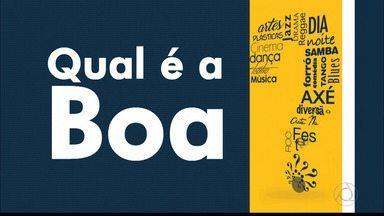 Qual é a Boa da sexta-feira na Paraíba - Veja as opções da agenda cultural.