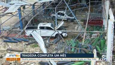 Acidente fatal em empresa de gás em Boa Vista completa 30 dias - Perícia realizada no local pelo Corpo de Bombeiros deve ser apresentado nesta sexta-feira (15).