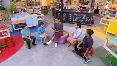Vegetariano - Kapim ensina um prato especial para as crianças vegetarianas: quatro versões de risoto de quinoa acompanhados de proteínas vegetais.