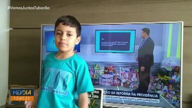 Telespectadores chamam o intervalo do Meio Dia Paraná - Você também pode participar pelo 99972-5178